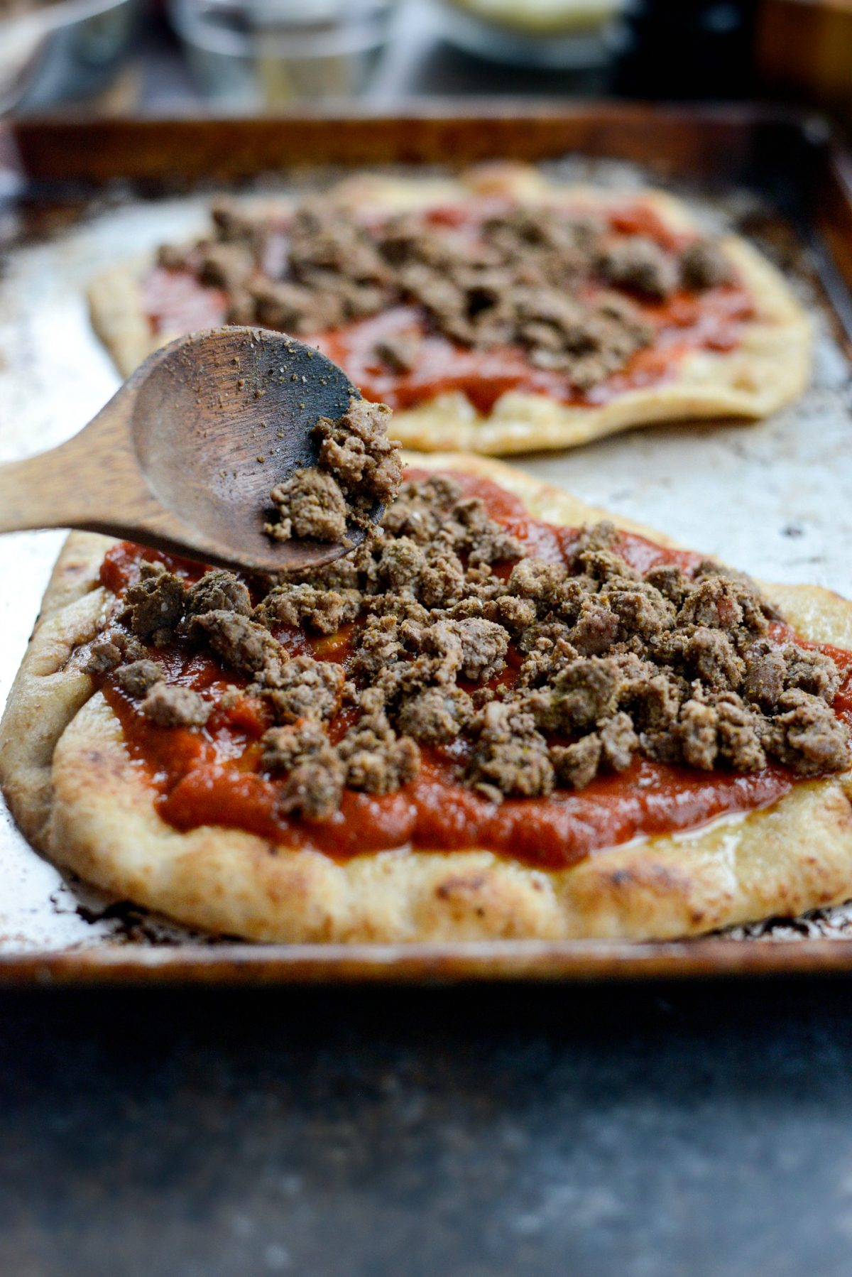 Lebanese Margherita Lamb Pizza l SimplyScratch.com (7)
