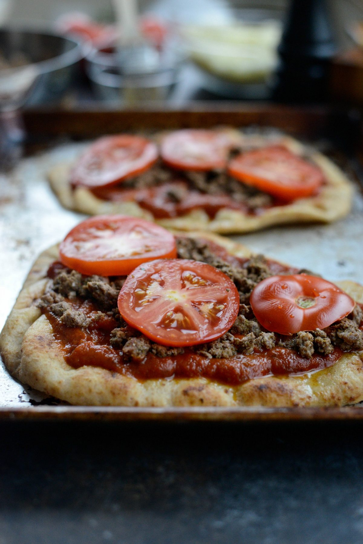 Lebanese Margherita Lamb Pizza l SimplyScratch.com (8)