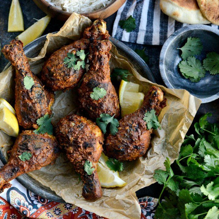 Oven Tandoori Chicken with Mint Yogurt