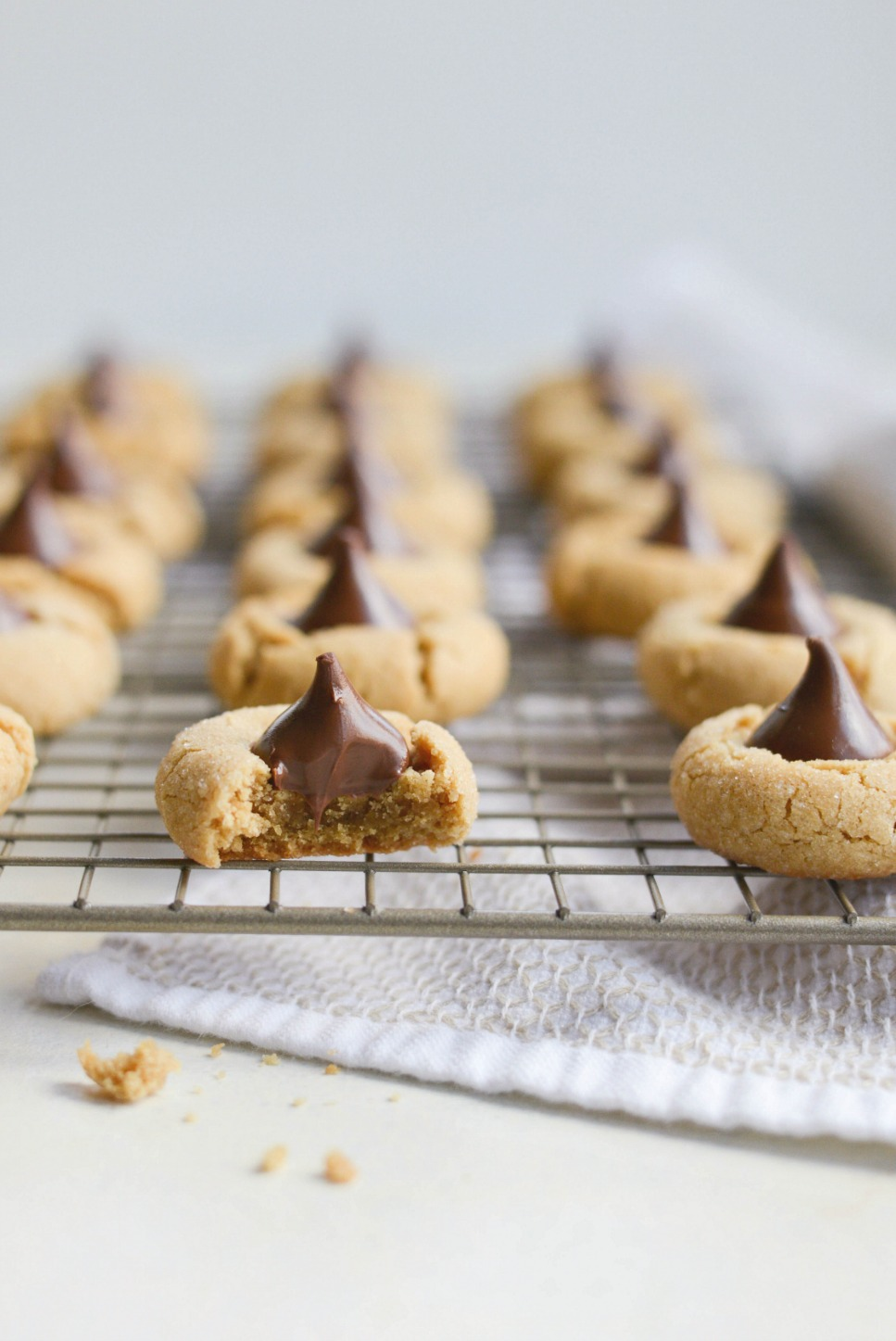 Peanut Butter Blossoms l SimplyScratch.com (19)