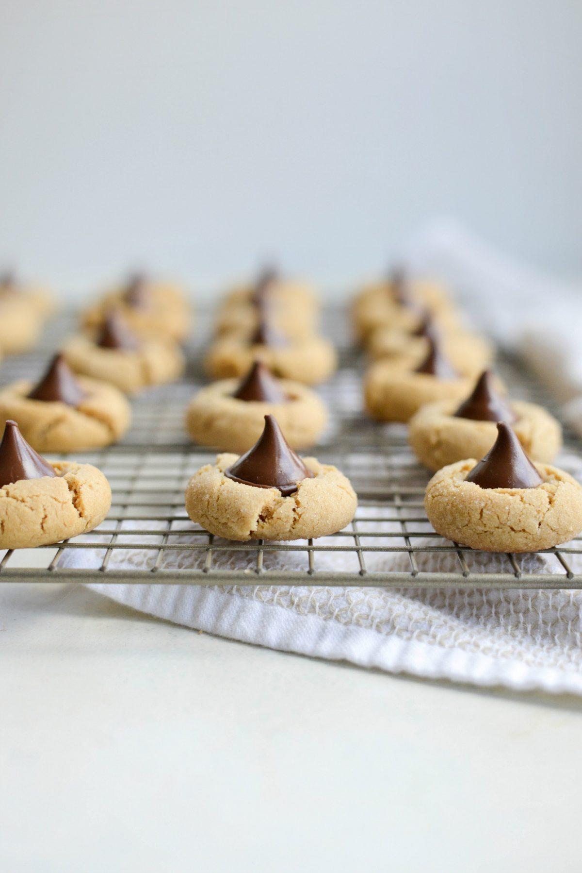 Peanut Butter Blossoms l SimplyScratch.com (20)