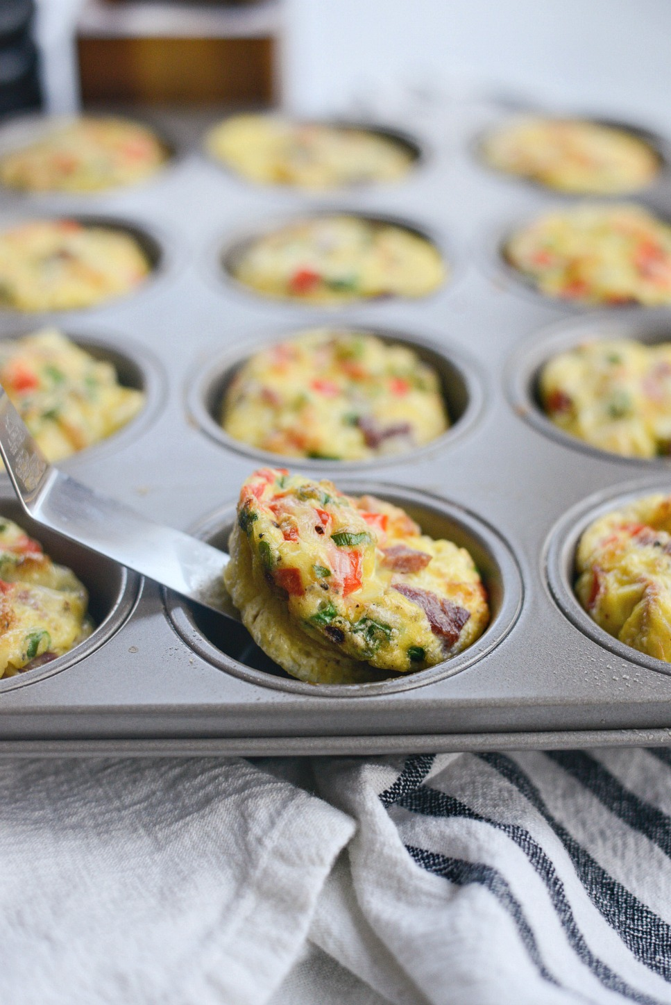 Western Omelet Mini Frittatas l SimplyScratch.com (11)