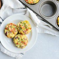 Western Omelet Mini Frittatas