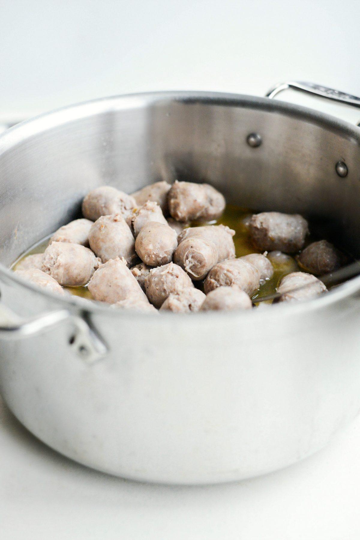 Chardonnay Italian Sausage Bites l SimplyScratch.com (9)