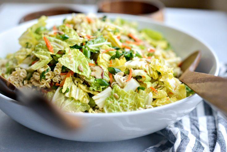 Best Crunchy Asian Ramen Salad
