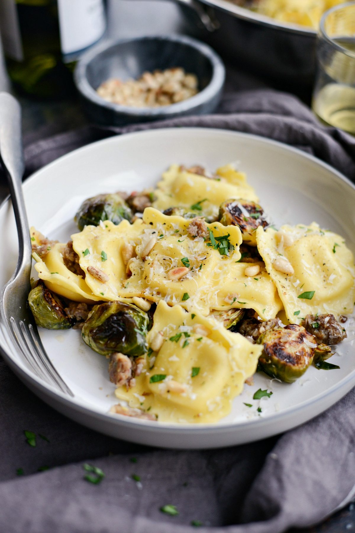 Italian Sausage Brussels Sprout Ravioli l SimplyScratch.com (14)