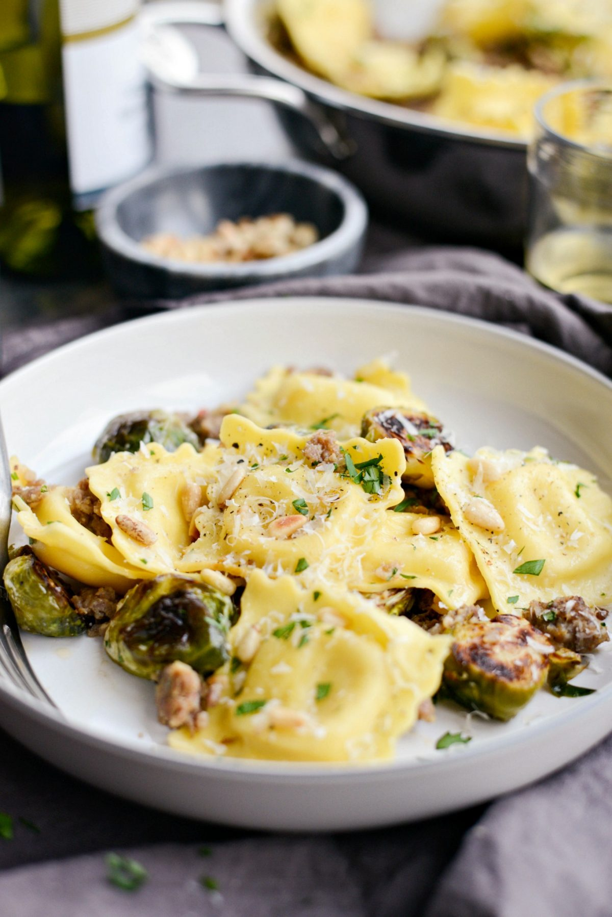 Italian Sausage Brussels Sprout Ravioli l SimplyScratch.com (15)
