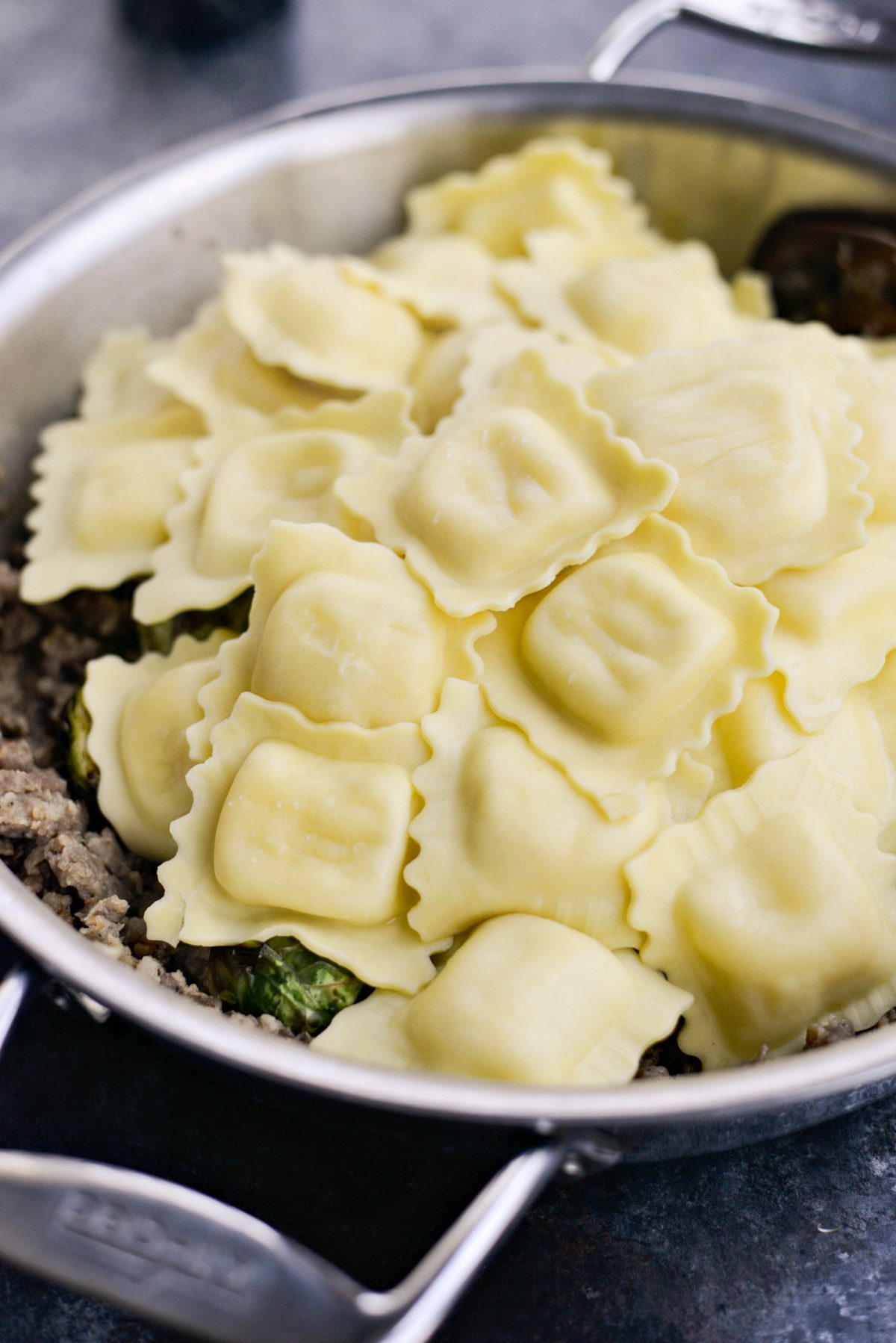Italian Sausage Brussels Sprout Ravioli l SimplyScratch.com (8)