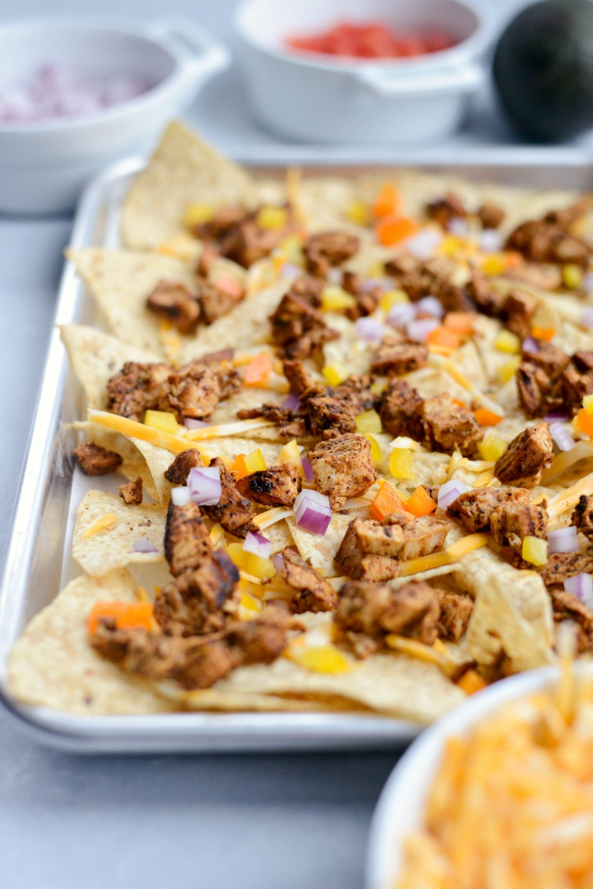 Mexicali Chicken Sheet Pan Nachos l SimplyScratch.com (10)