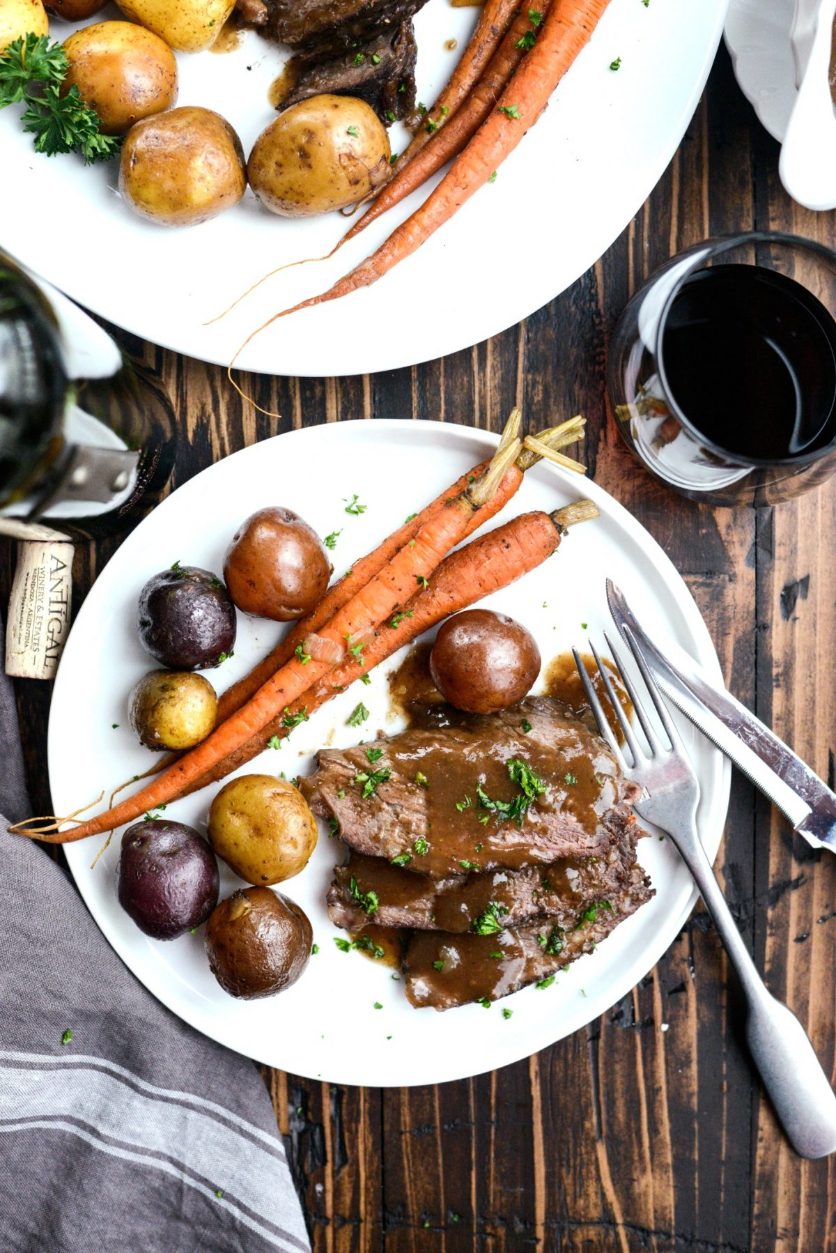 Slow Cooker Balsamic Dijon Pot Roast l SimplyScratch.com (16)