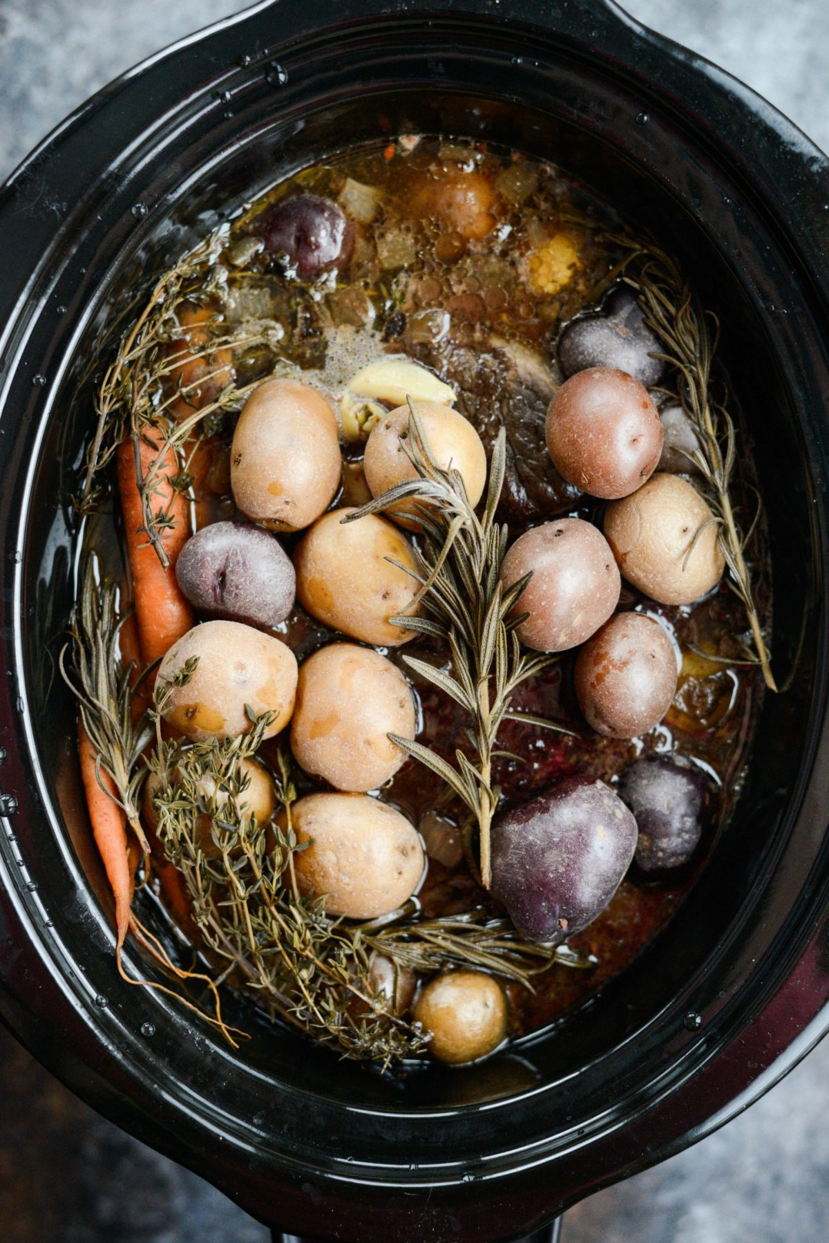 Slow Cooker Balsamic Dijon Pot Roast l SimplyScratch.com (8)