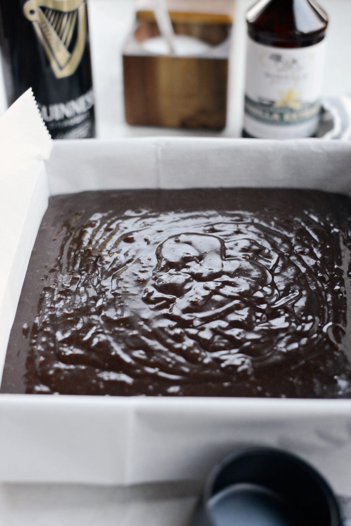 Chocolate Guinness Brownies with Brown Butter Stout Frosting l SimplyScratch.com (15)
