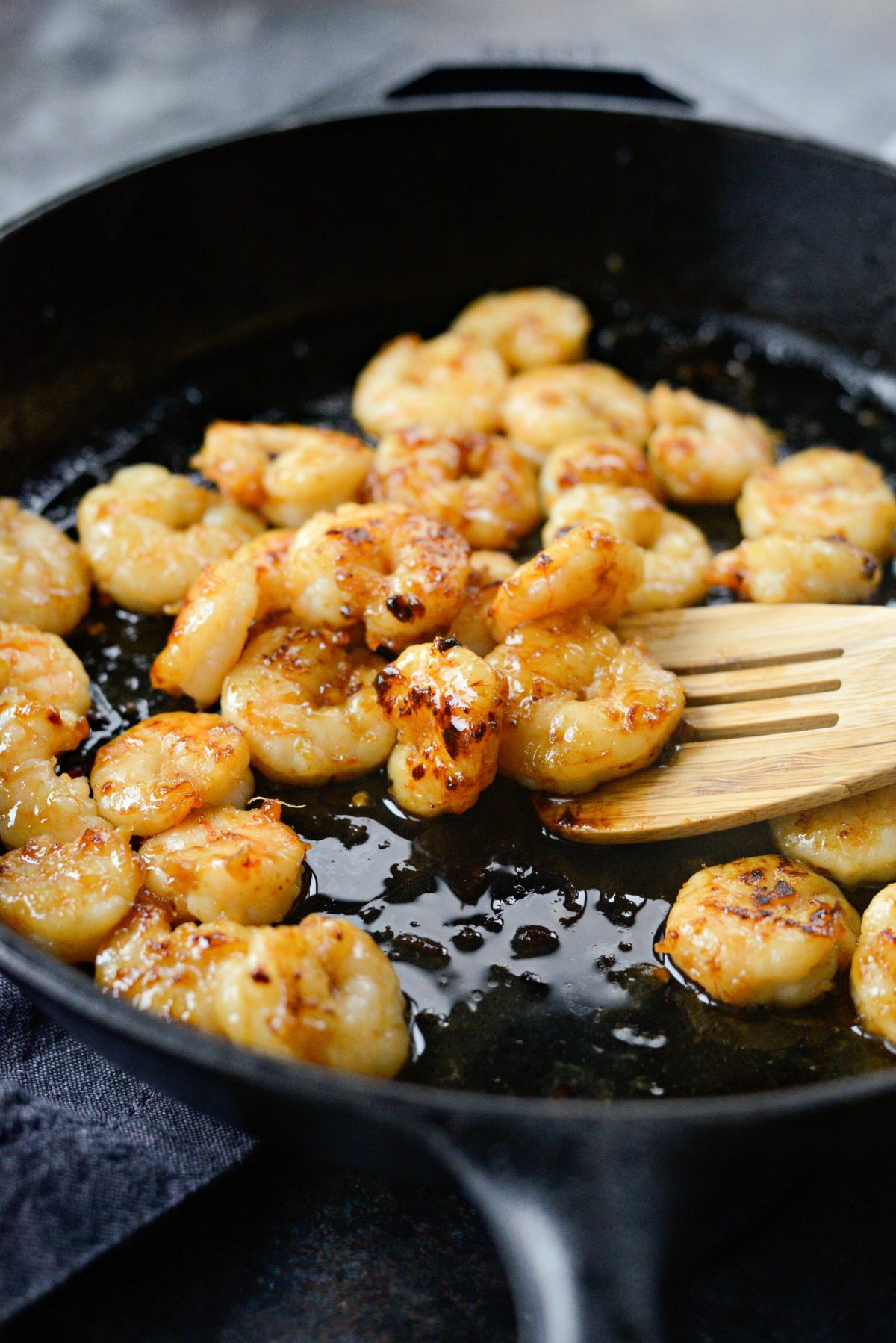 Glazed Hot Honey Garlic Shrimp l SimplyScratch.com (12)