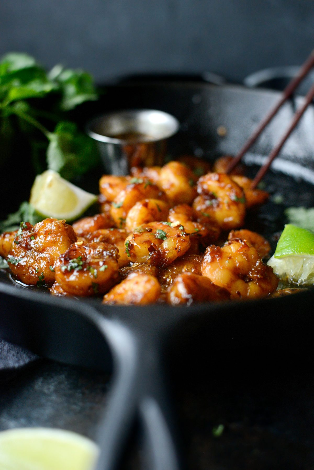 Glazed Hot Honey Garlic Shrimp l SimplyScratch.com (21)
