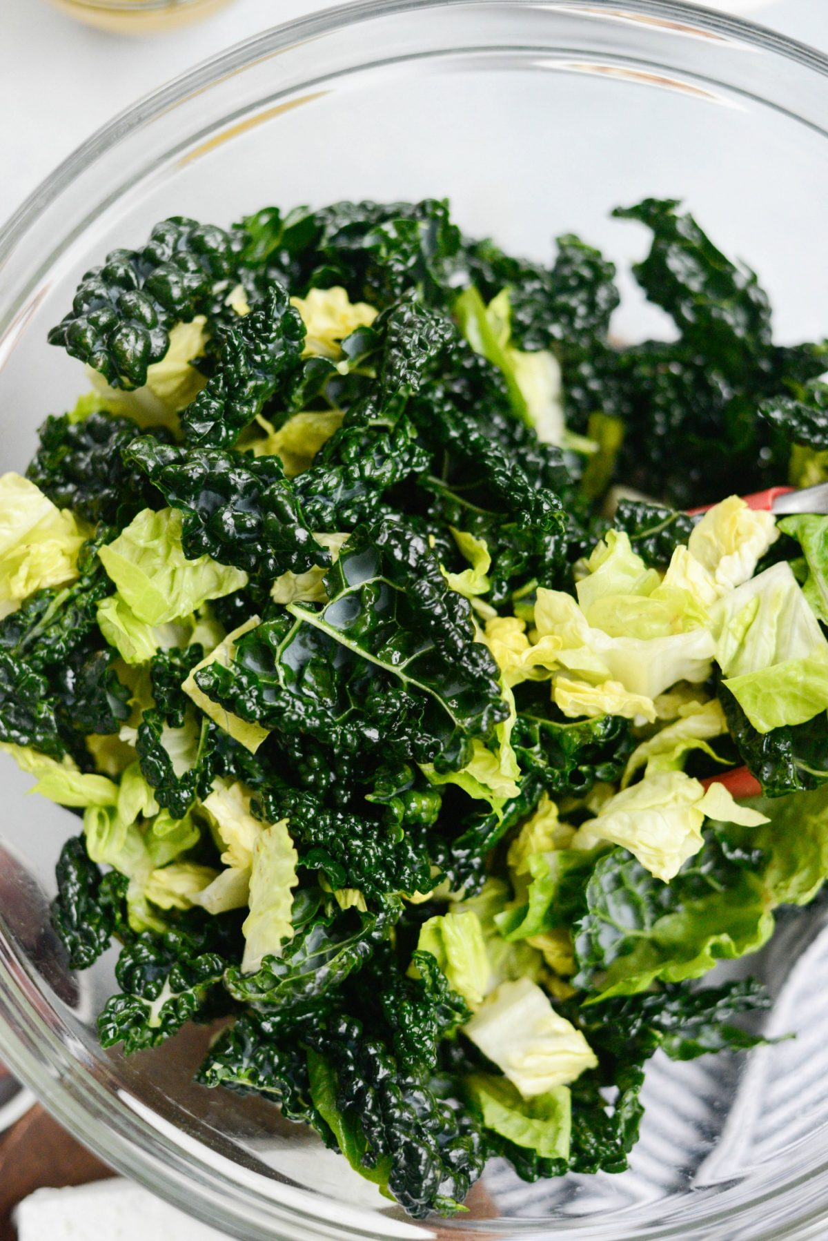 Modern Greek Kale Salad l SimplyScratch.com (4)