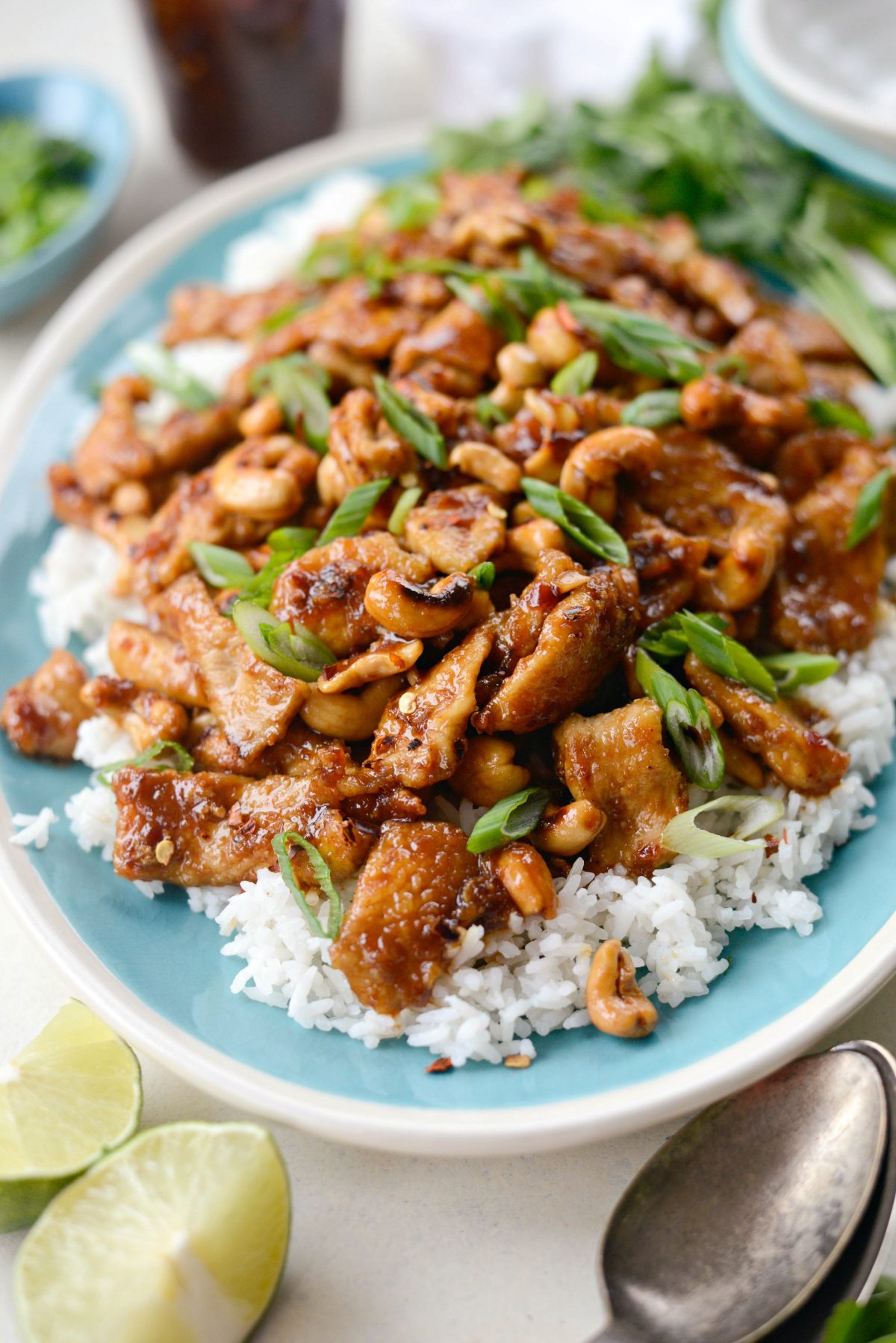 Spicy Ginger Cashew Pork l SimplyScratch.com (13)
