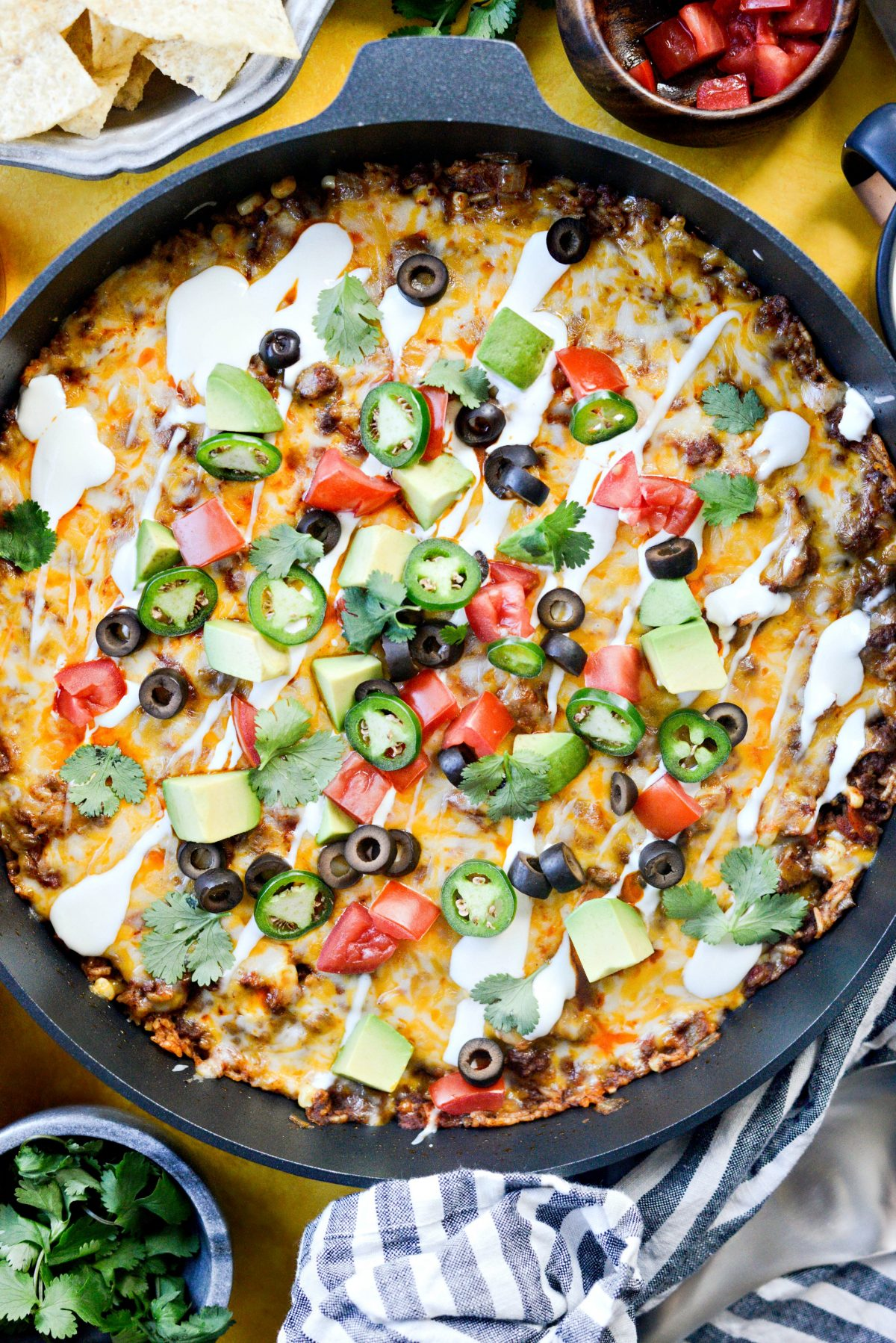 Cheesy Mexican Rice Skillet - Easy Weeknight Meals