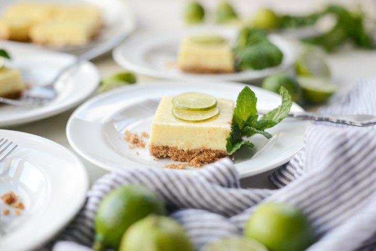 Homemade Key Lime Pie Bars