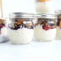 Make Ahead Yogurt Parfaits
