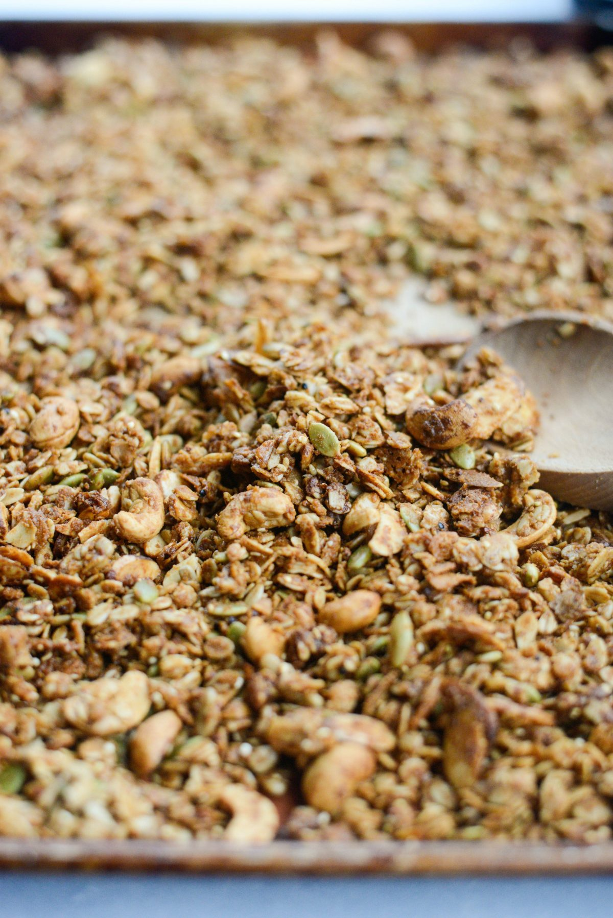 Tahini Nut and Seed Granola l SimplyScratch.com (12)