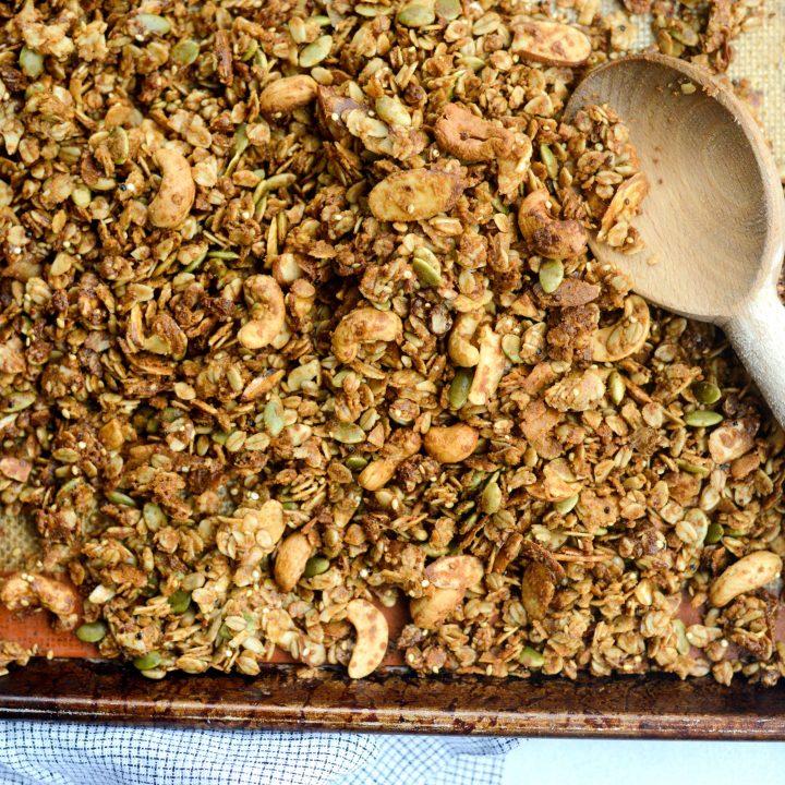 Tahini Nut and Seed Granola