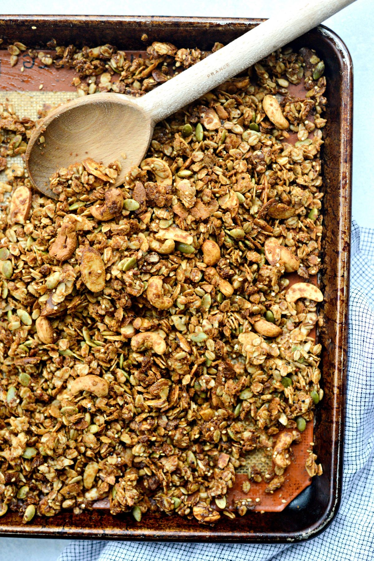 Tahini Nut and Seed Granola l SimplyScratch.com (14)