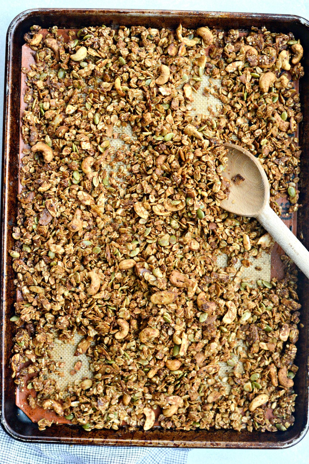 Tahini Nut and Seed Granola l SimplyScratch.com (15)