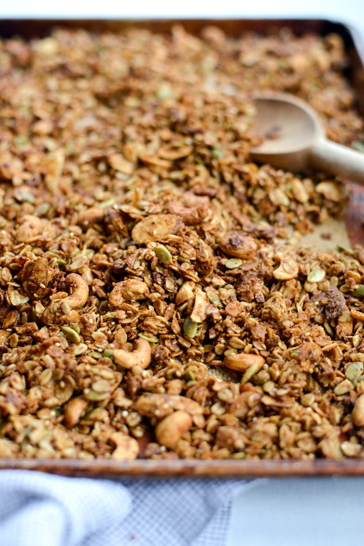 Tahini Nut and Seed Granola l SimplyScratch.com (17)