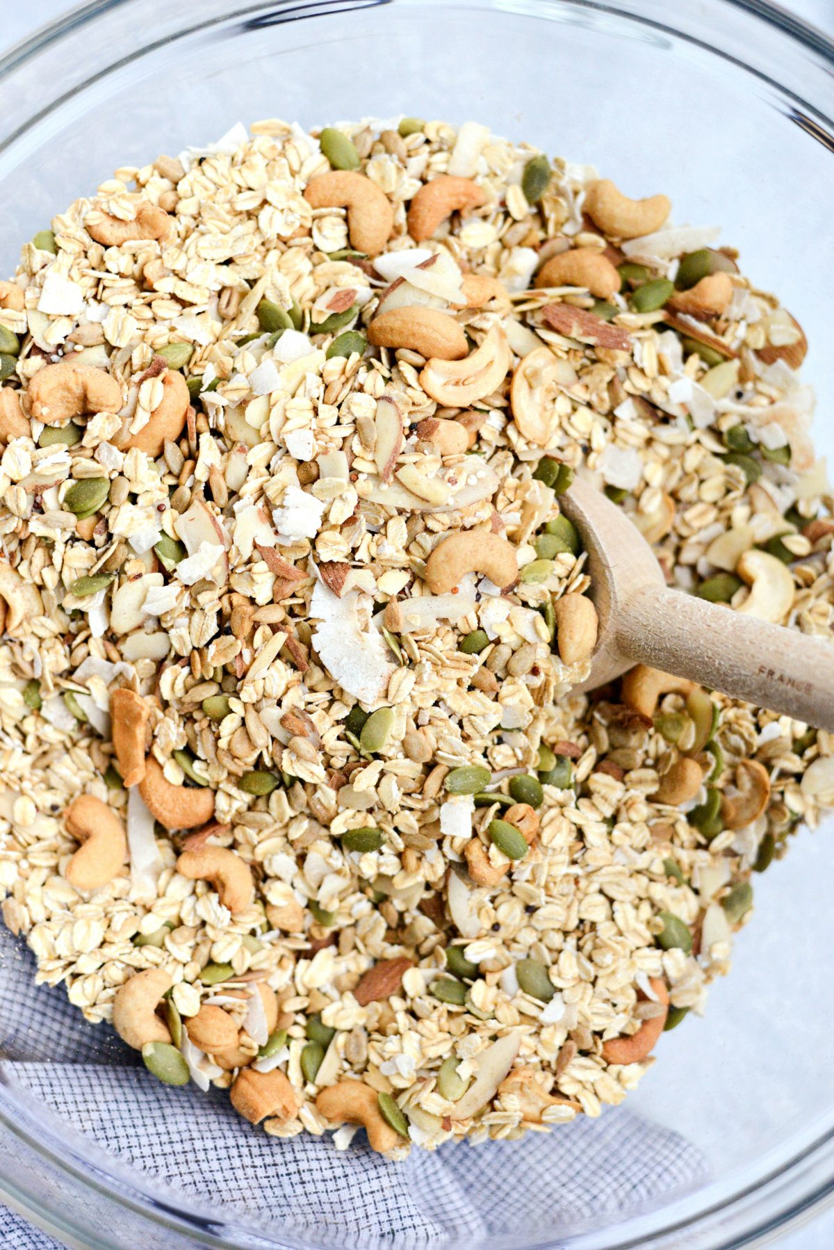 Tahini Nut and Seed Granola l SimplyScratch.com (5)