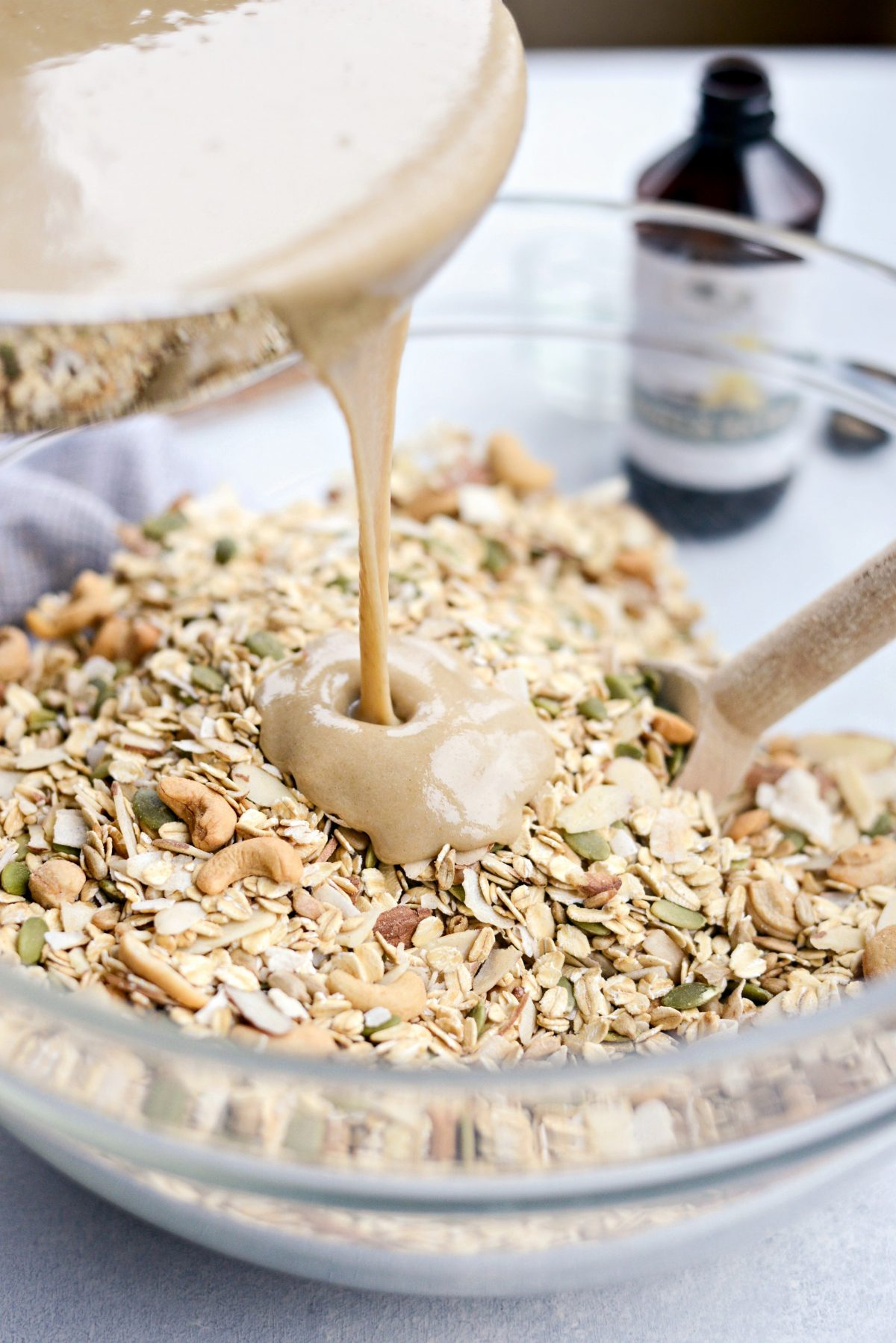 Tahini Nut and Seed Granola l SimplyScratch.com (7)