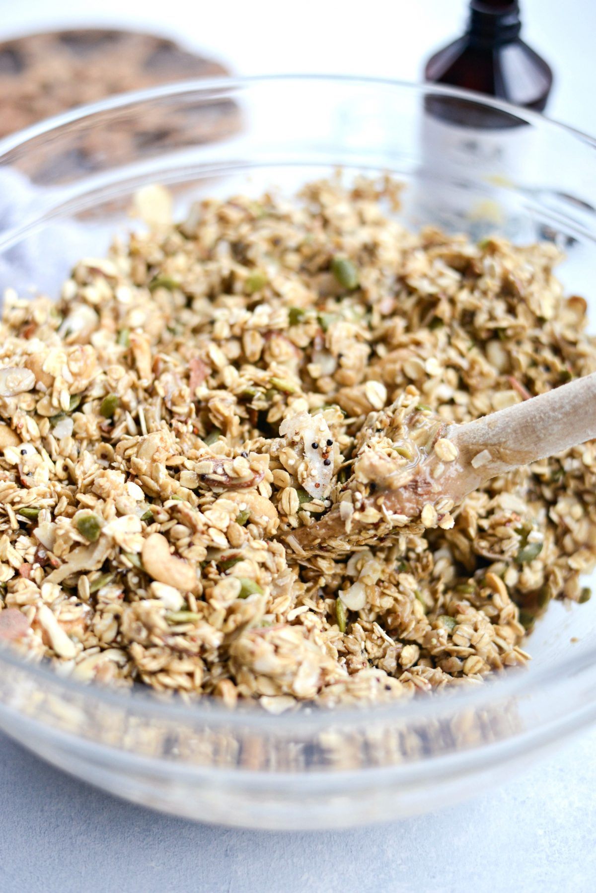 Tahini Nut and Seed Granola l SimplyScratch.com (8)