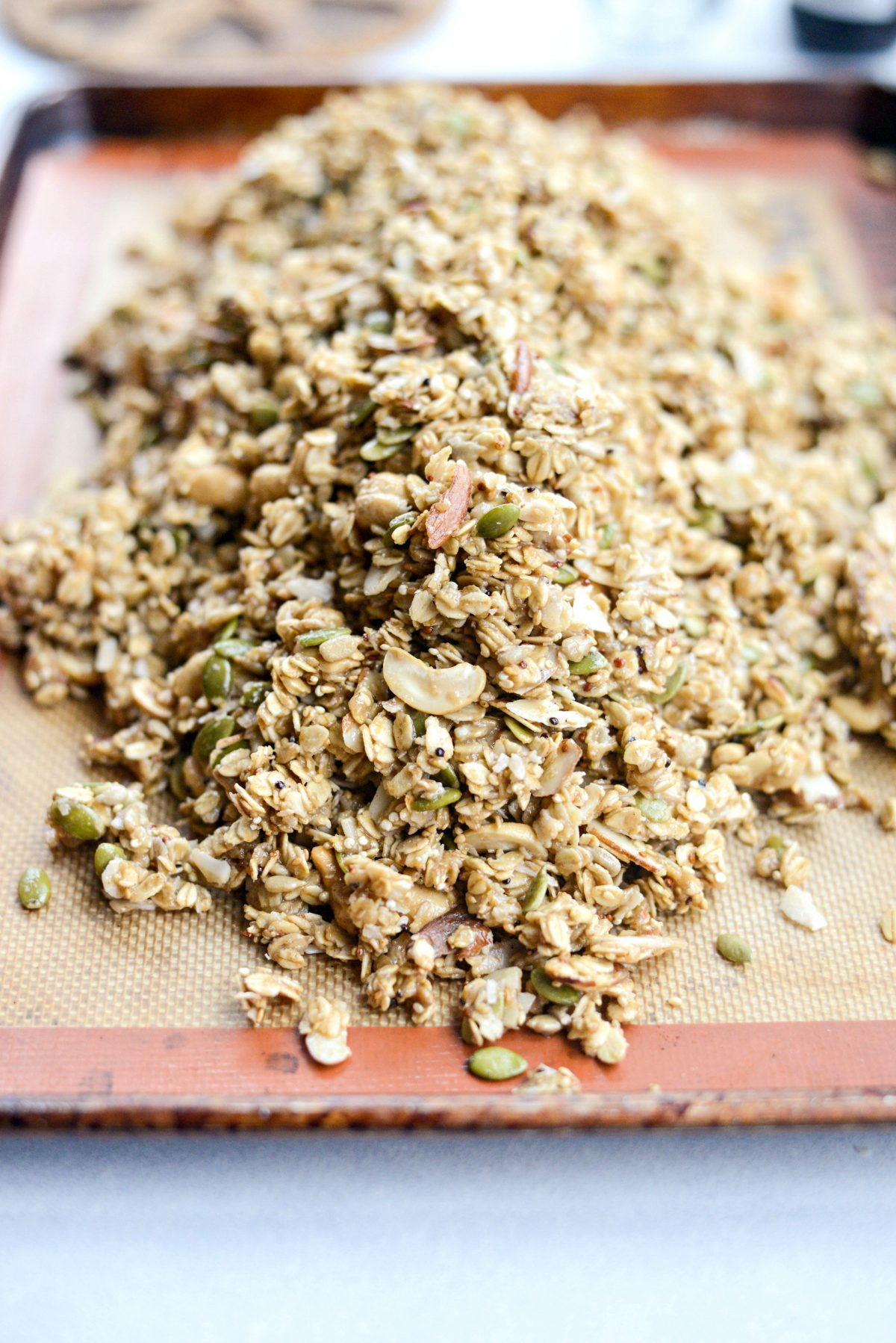Tahini Nut and Seed Granola l SimplyScratch.com (9)