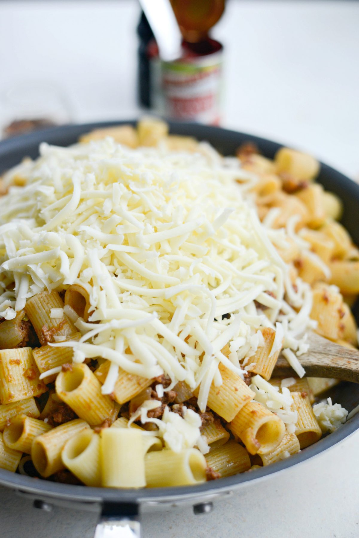 Easy Cheesy Beef Pasta Skillet l SimplyScratch.com (10)