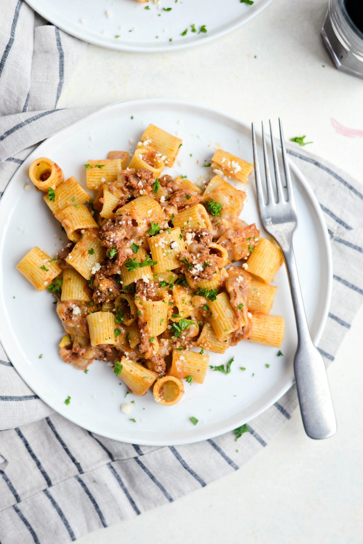 Easy Cheesy Beef Pasta Skillet l SimplyScratch.com (13)