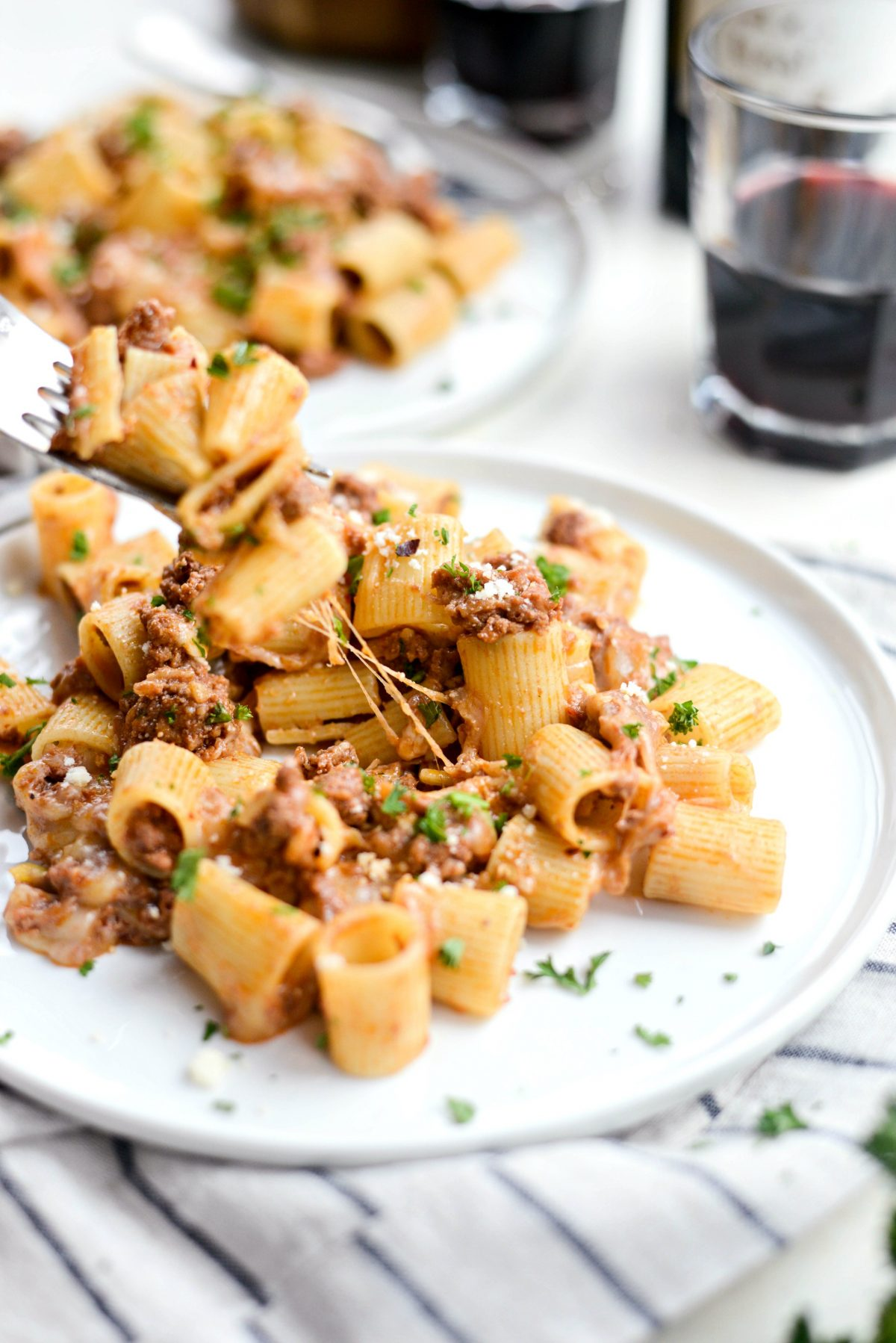 Easy Cheesy Beef Pasta Skillet l SimplyScratch.com (21)