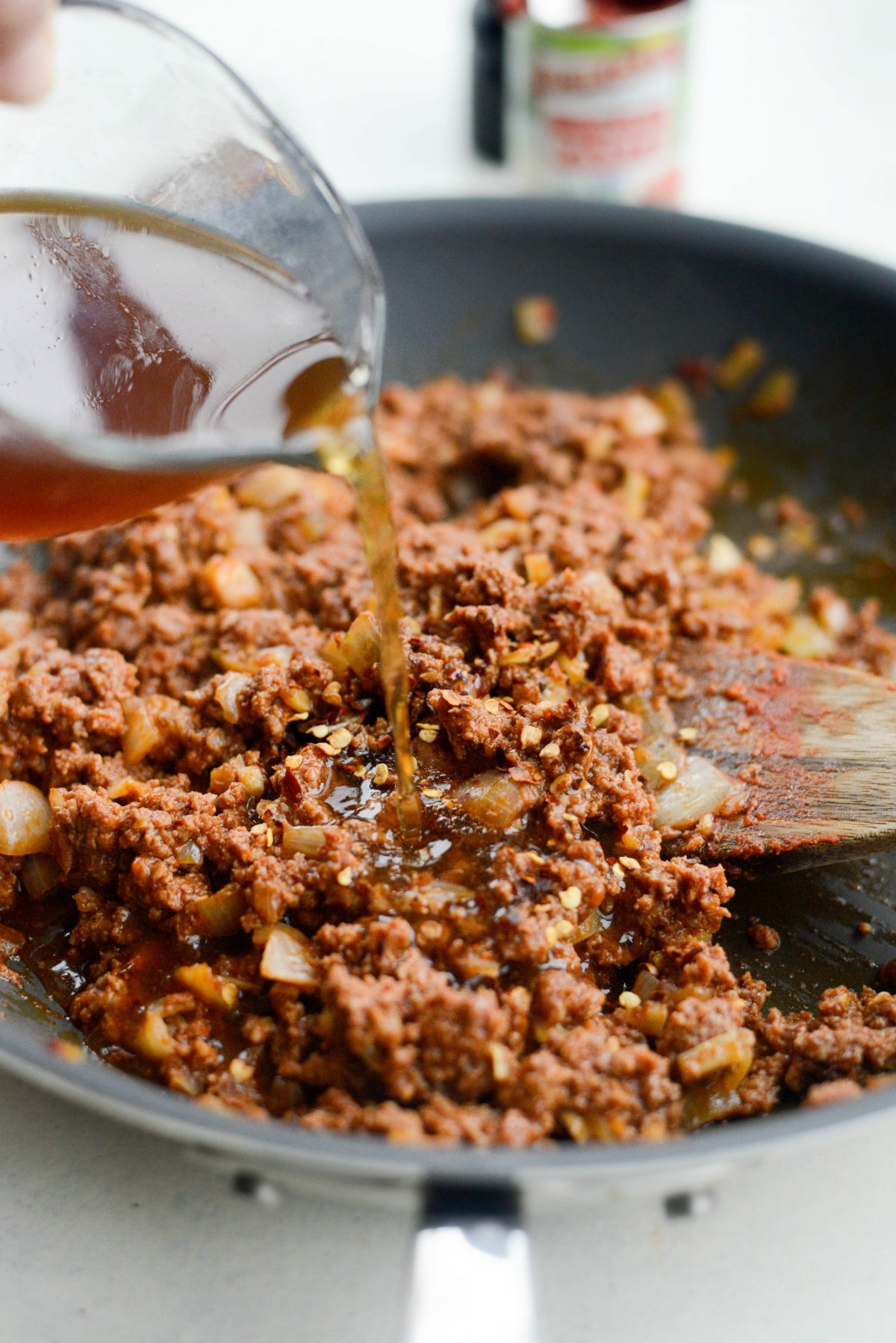 Easy Cheesy Beef Pasta Skillet l SimplyScratch.com (6)