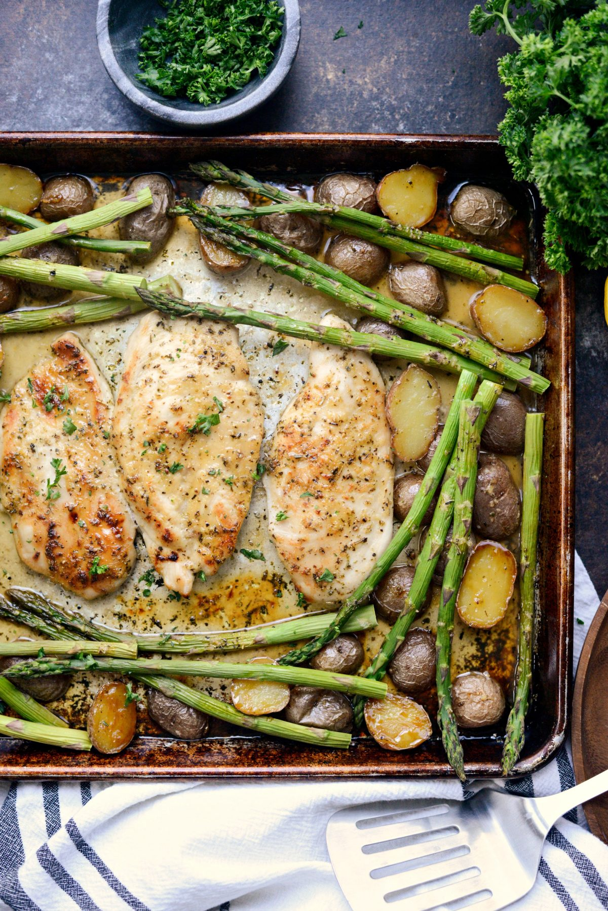 Honey Dijon Chicken Sheet Pan Dinner l SimplyScratch (12)
