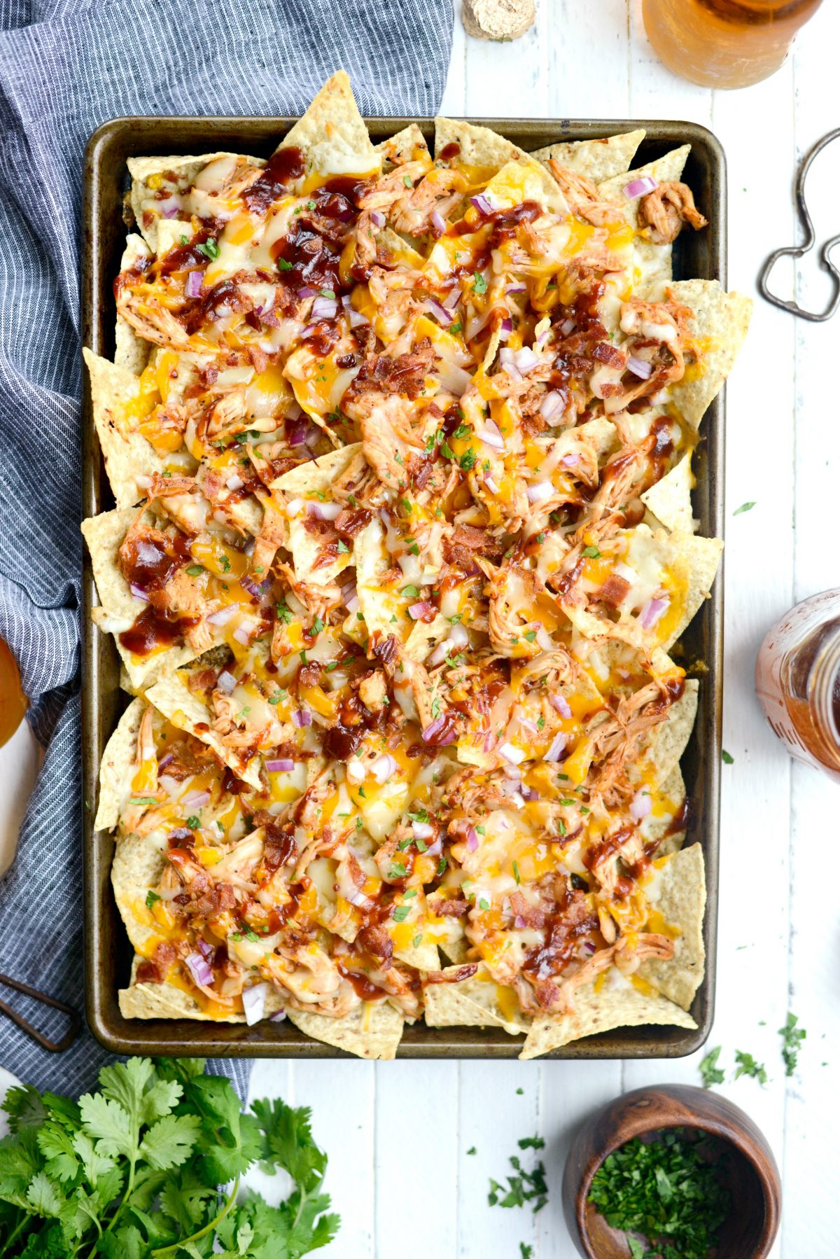 Sheet Pan BBQ Chicken Nachos l SimplyScratch.com (16)