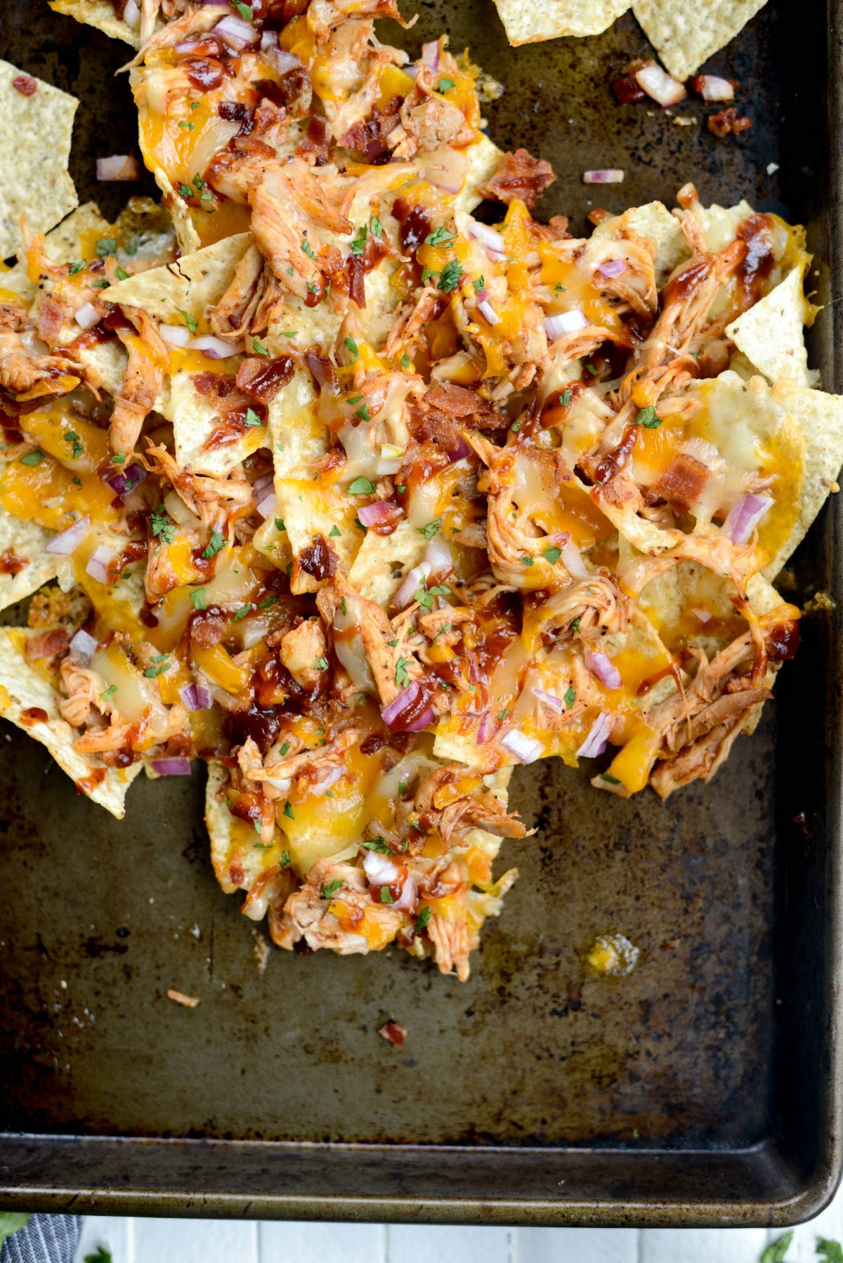 Sheet Pan BBQ Chicken Nachos l SimplyScratch.com (21)