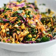 Sweet Potato Noodle Salad with Roasted Poblano and Sweet Corn l SimplyScratch.com (19)