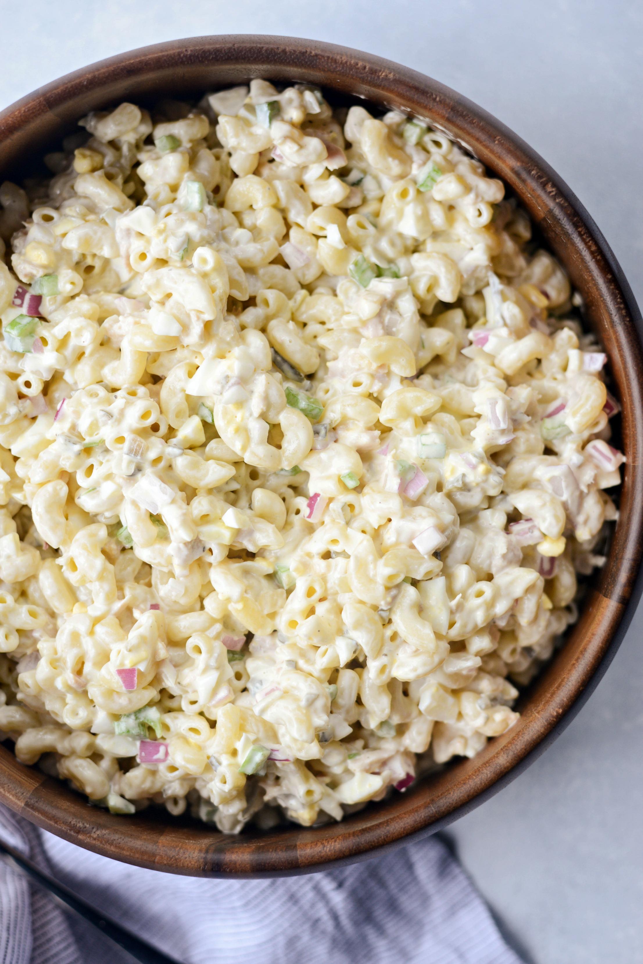 Classic Tuna Macaroni Salad Recipe