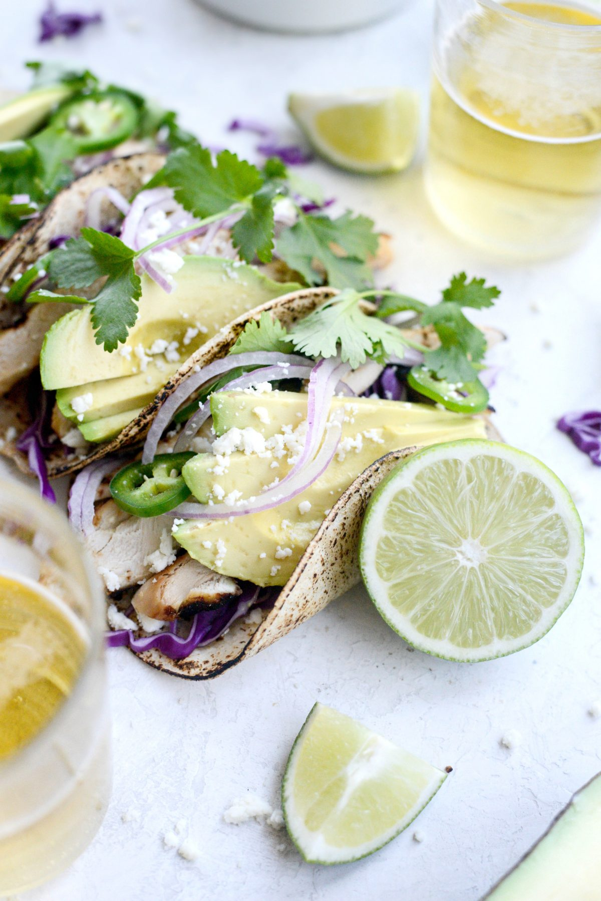 Grilled Tequila Lime Chicken Tacos