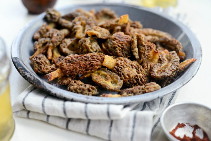Pan Fried Morel Mushrooms