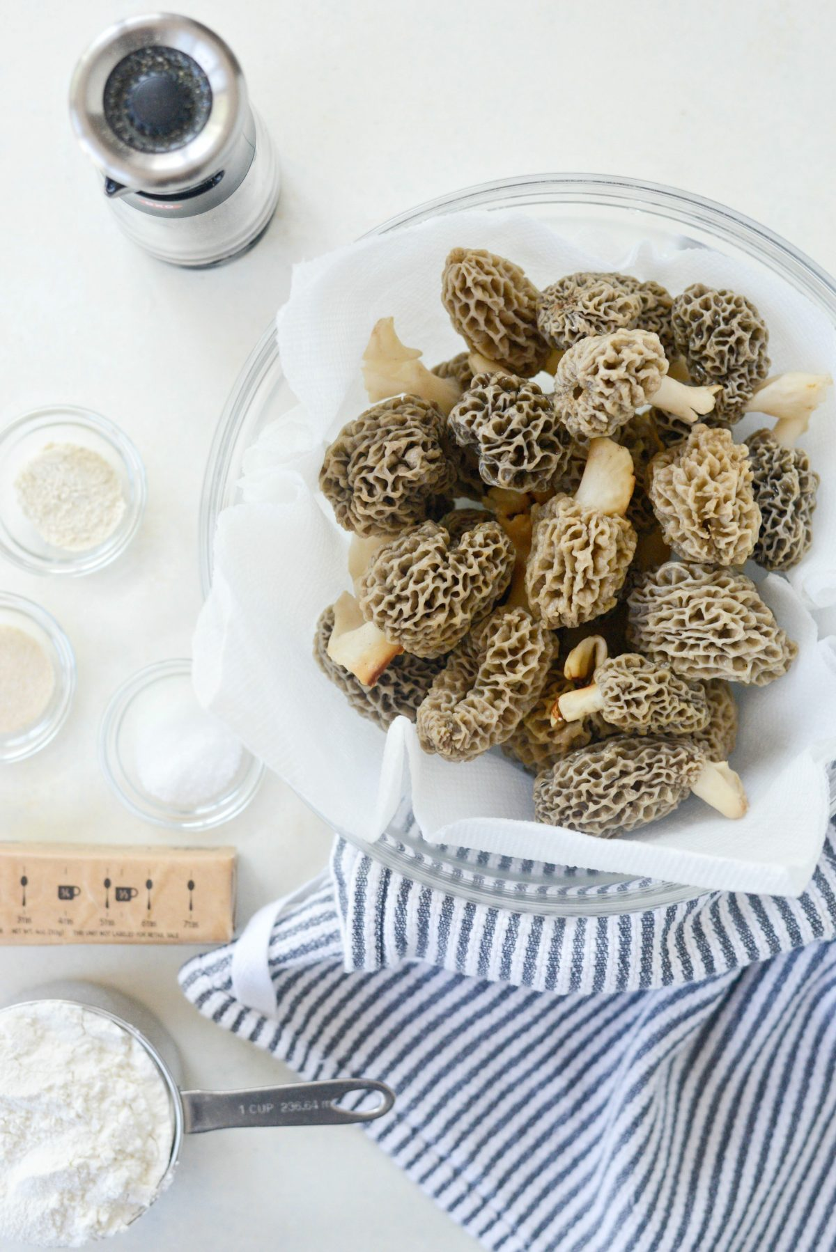 Pan Fried Morel Mushrooms l SimplyScratch.com