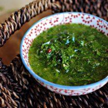 Chimichurri Sauce l SimplyScratch.com
