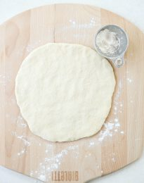 Homemade Pizza Dough l SimplyScratch.com