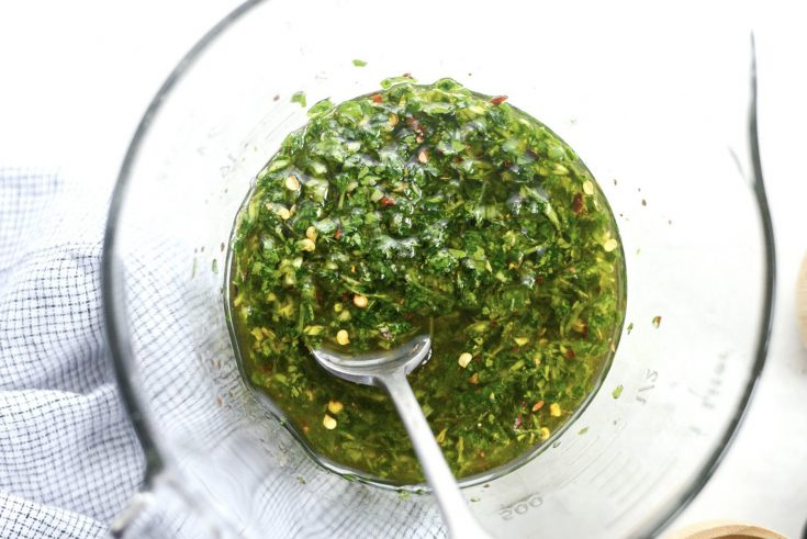 Quick Cilantro Chimichurri Sauce Simply Scratch