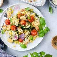 Sheet Pan Gnocchi with Summer Vegetables