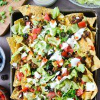 Loaded Taco Nachos