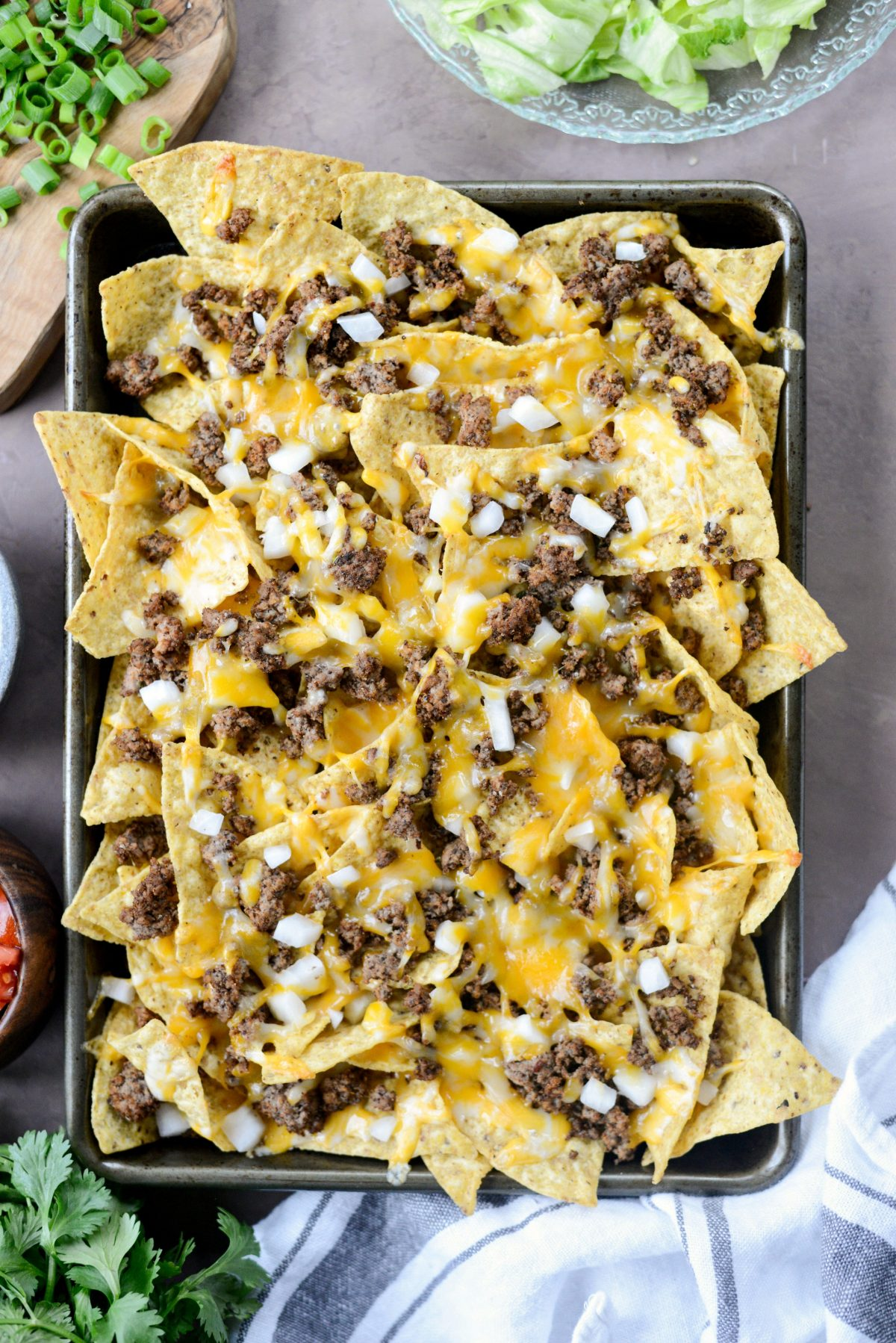 Loaded Taco Nachos l SimplyScratch.com